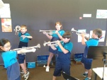 Students in their Brass class!