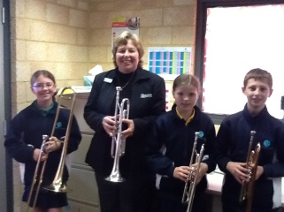 Mrs Wendy Armstrong is our SIM Brass Teacher.